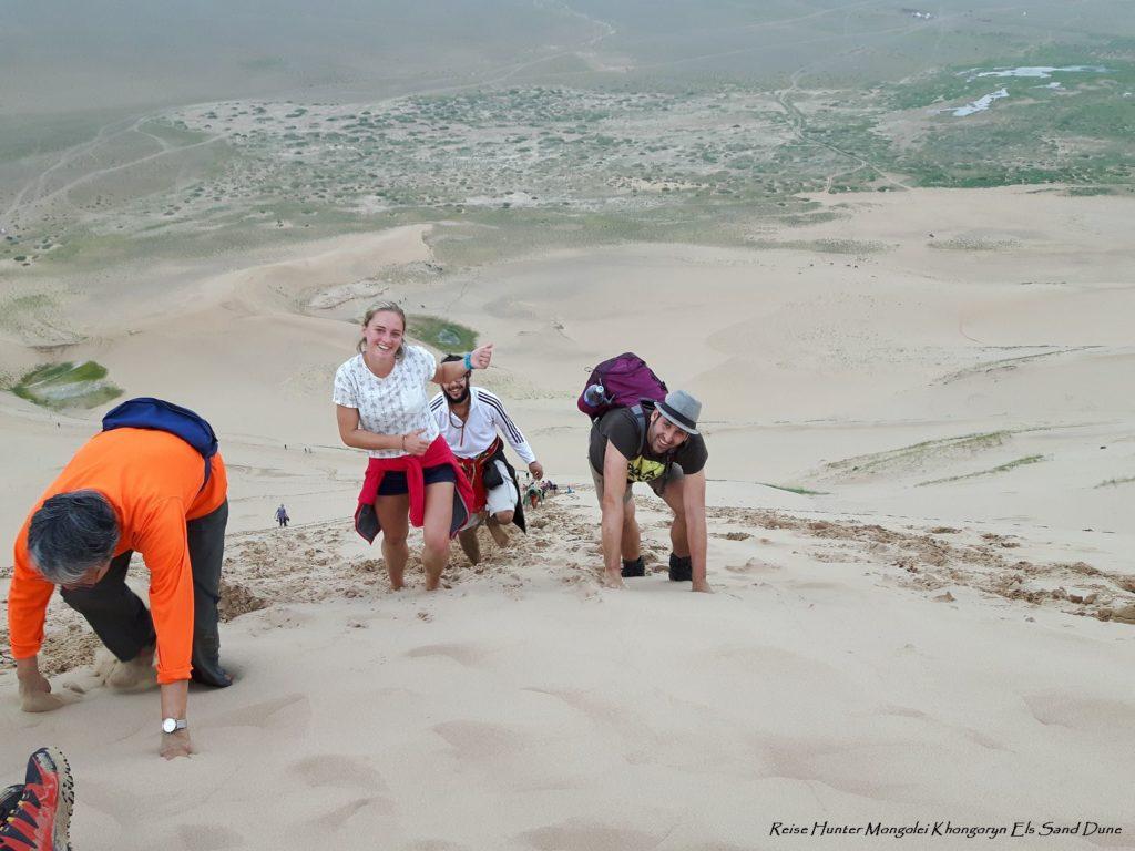 Reise Hunter Mongolei Sanddüne6
