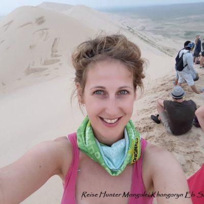 Reise Hunter Mongolei Sanddüne7