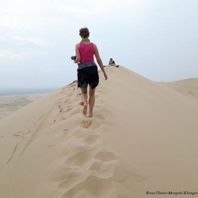 Reise Hunter Mongolei Sanddüne8