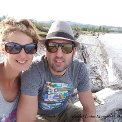 Reise Hunter Mongolei Uferselfie2