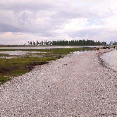 Reise Hunter Mongolei Uferstraße