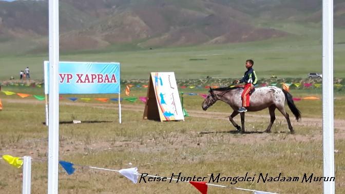 Reise Hunter Mongolei Nadaam Reiten