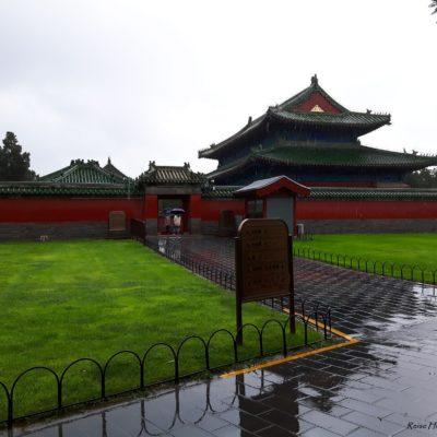 Reise-hunter-peking Himmlischer Tempel im Regen