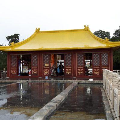 Reise-hunter-peking Himmlischer Tempel gelbes Dach
