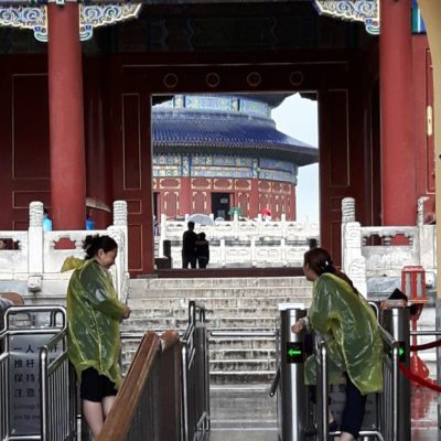 Reise-hunter-peking Himmlischer Tempel Eingangstor Blick innen