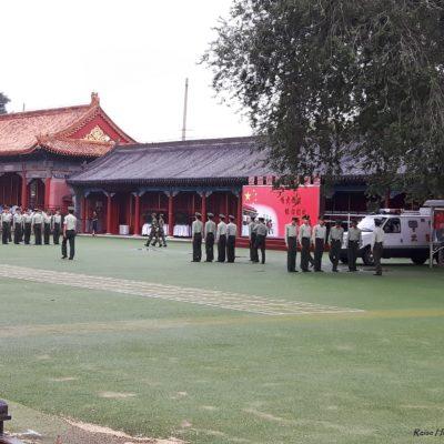 Reise-Hunter-Peking Verbotene Stadt Militärparade