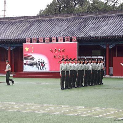 Reise-Hunter-Peking Verbotene Stadt Militärparade2