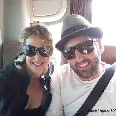 Reise Hunter Dubai Emirates Bus von AbuDhabi