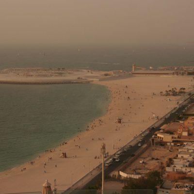 Reise-hunter-dubai-blick-vom-jumeirah-beach-hotel