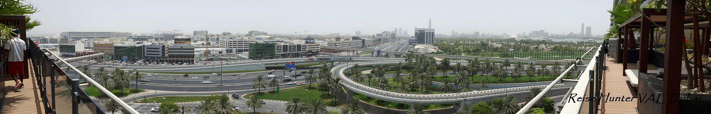 Reise Hunter Dubai Ausblick vom Hotel