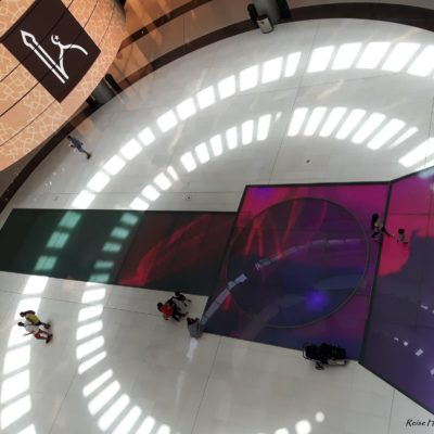 Reise Hunter Dubai Mall Gebets Zeit