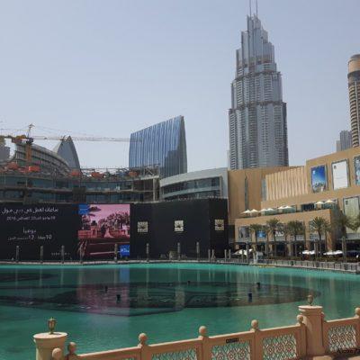 Reise Hunter Dubai Fountain