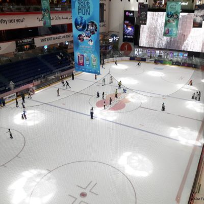 Reise Hunter Dubai Mall Eisbahn