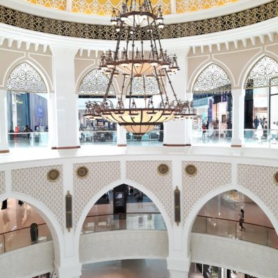Reise Hunter Dubai Mall arab style