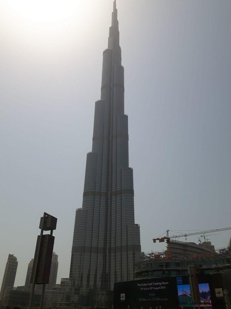 Reise Hunter Dubai Burj Khalifa 828m