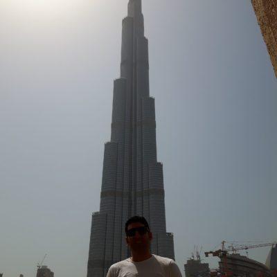 Reise Hunter Dubai Burj Khalifa Daniel