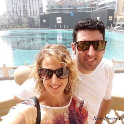 Reise Hunter Dubai Fountain Daniel und Judith