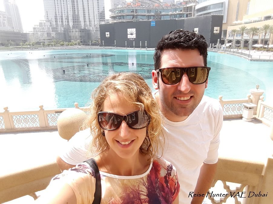 Reise Hunter Dubai Fountain Daniel und Judith