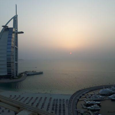 Reise-hunter-dubai-burj-al-arab-hotel sunset