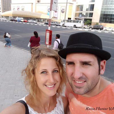 Reise Hunter Dubai Bus kommt