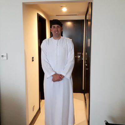 Reise Hunter Dubai Daniel arabian style